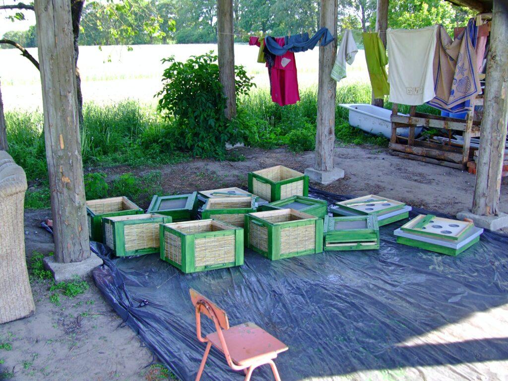 Pracownia malarska do malowania uli