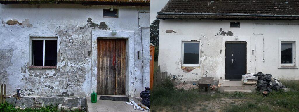 drzwi stare i nowe