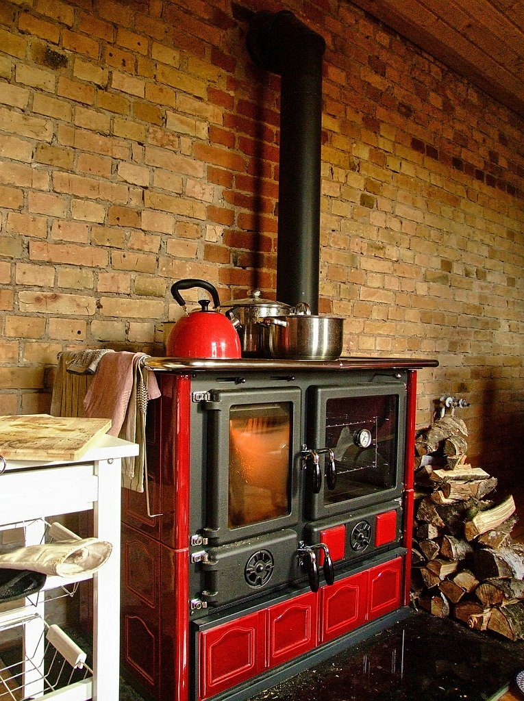 Piec kuchenny La Nordica na drewno